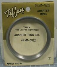 Tiffen Series 7 Filter Holder and Screw-On 46.5mm Adapter Ring #722 46.5M