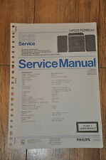 Philips TAPCCD FCD463 / 30/35 Stereo Stack Music Centre Workshop Service Manual
