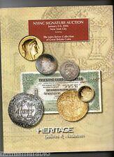 Catalogo Heritage di rare monete Inglesi collezione Jules Reiver