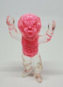 "Scott Wilkowski Resin Infected 4"" Lion Clear Body Pink Skeleton"