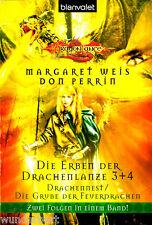 """"""" Die Erben der Drachenlanze 3 + 4 - Drachennest / Die Grube der Feuerdrachen """""""