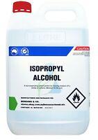 min. 99.8% pure Isopropyl Alcohol - 5 Litre - Isopropanol IPA Rubbing Alcohol 5L