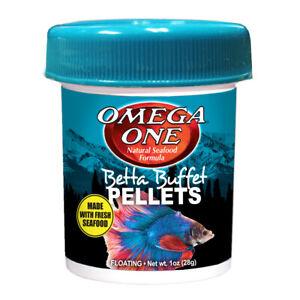 Omega One Buffet Pellets 1oz (28g)