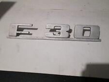 Sigle insigne logo aluminium MERCEDES HANOMAG HENSCHELL F 30 F30 monogramme