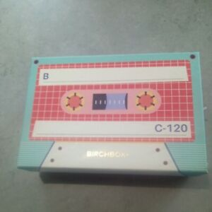 Birchbox Empty Cassette Tape Box