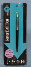 Vintage Parker JOTTER Ball Point Pen Sealed on Card. Old Inkpen Never used.