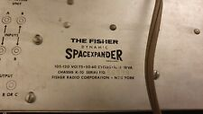 The Fisher K-10 Spacexpander Tube Spring Reverb vintage 1960 DUB King tubby