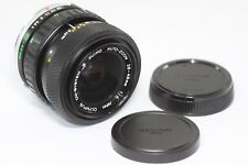 Olympus S Zuiko Zoom 28-48mm F/4 MF Lens Made In Japan