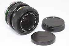 Olympus S Zuiko Zoom 28-48mm F/4 MF Lens Made In Japan
