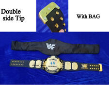 WWF 4mm Winged Eagle Heavyweight Wrestling Championship Belt Double side Tip