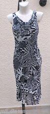 Robe Sans Manches Doublée Blanc Et Noir La City Taille 42