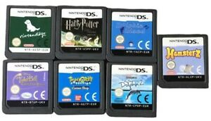 NINTENDO DS Lite Cart Only Various Harry Potter Tamogotchi Tinkerbell Books