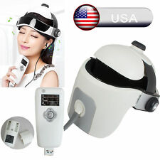 Head Eye Neck Massager Vibration Massage Heat Therapy Acupressure Music Relax US