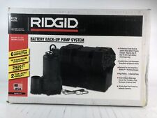 Ridgid R12v 12 Volt Battery Back Up System