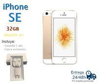IPHONE SE 32GB DORADO REACONDICIONADO LIBRE / GRADO A+ / CAJA Y ACCESORIOS