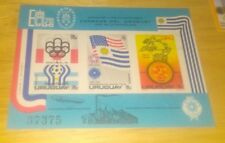 Uruguay  Scott's C319,C411,C417, C418a . Small lot of Airmails.