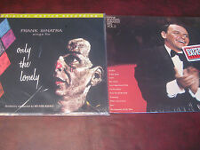 FRANK SINATRA'S ONLY THE LONELY MFSL 180 GRAM AUDIOPHILE LP + BONUS LP HITS II