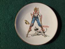 "Norman Rockwell ""Boy On Stilts"" Danbury Mint"