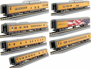 KATO 106086 N SCALE  Union Pacific Excursion Train 7-Car Set UP 106-086