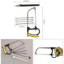 Hacksaw Devil Saw Bow Blades Metal Woodworking Wire Jewellery Craft Hand Tool