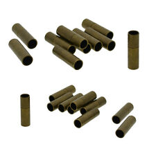 10x Bayonet Clasps Choker Leather Cord End Caps for Jewelry Making Findings