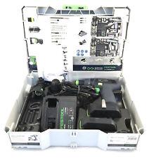 Festool 564514 10.8V 2.6Ah Li-Ion Cordless Drill Set