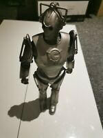 """DR Doctor Who CYBERMAN Leader 12"""" Inch Action Figure  BBC 2006 Exposed Brain"""