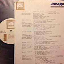 RADIO SHOW: SOLID GOLD SCRAPBOOK SALUTES PAUL ANKA 7/31/90 w/5 PAUL INTERVIEWS