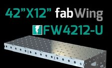 """CertiFlat FW4212 42""""X12"""" FabWing Extension Table for Pro & FabBlock Tables - HD"""