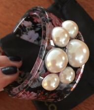 💗 Flower Pearl Mimco As New Bracelet  + Mimco dust bag