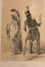 Wi-Jun-Jon, George Catlin, Original Lithograph,Limited Edition 1970