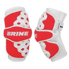 Brine Triumph Ii Lacrosse Arm Pads Red Adult Large Laptri2-Redl