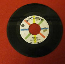 "RONNIE HAWKINS ""MARY LOU"" 1959 ROULETTE ISSUE LQQQK!!"