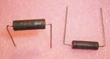 QTY (10) 5 Ohm 5 WATT 5% AXIAL WIREWOUND RESISTORS AS5-5 IRC SAME AS CW5-5