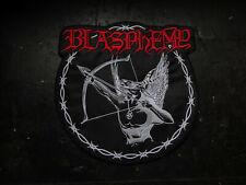 Blasphemy Backpatch Patch Shape Black Metal Archgoat Revenge Mgla XXL Shape