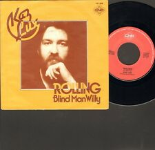 """KAZ LUX Rolling SINGLE 7"""" Blind Man Willy 1979 Related BRAINBOX Randy Newman"""