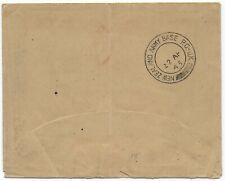 1943 New Zealand Army Base PO-UK pmk original Airgraph envelope RAF->Wales