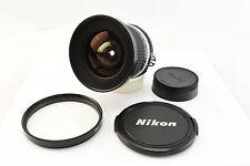 Nikon Nikkor 18mm f3.5 Ais Wide Angle Lens Original Caps UV Filter Near Mint