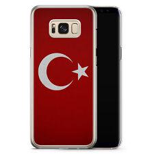 Samsung Galaxy S8 Plus - Hard Case Hülle - Türkiye Turkey Türkei Neu Flagge Mot