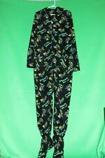 THE SIMPSONS - BART SKATEBOARDING BLACK ONEPIECE - ADULT SIZE S (NEW)