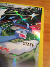 NM Prerelease STAFF Pokemon ALTARIA Card BLACK STAR Promo XY46 Roaring Skies Set