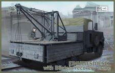 1/35 IBG 35006 Kfz.61 EINHEITSDIESEL with Bilstein Recovery Crane