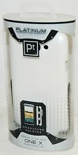 NEW Platinum HOC22SW HTC One X Smart Phone WHITE Travel Shock Protective Case