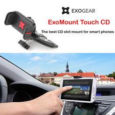 Exogear ExoMount Touch CD Slot Car Mount Holder iPhone X 8 7 6S 6 Plus Samsung
