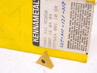 NEW SURPLUS 7PCS. KENNAMETAL  TNMP 331  GRADE: KC850 CARBIDE INSERTS