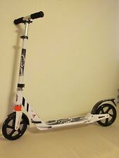 Town Rider Big Wheels Adult Kick Scooter White Portable with Suspension