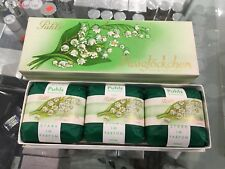 PUHLS MAIGLOCKCHEN LILY OF THE VALLEY 3 X 100 G PERFUMED SOAPS VINTAGE