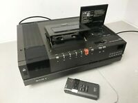 Sony SL-C7UB Betamax video recorder In original Box and remote made in Japan