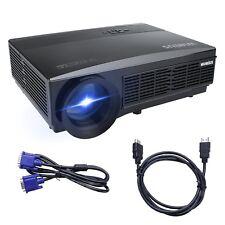 Proiettore, Videoproiettore Full HD 3500 Lumen LCD 1080p 1280*800 LED Multimedia