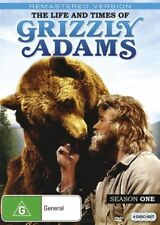 The Life And Times Of Grizzly Adams : Season 1 (DVD, 2016, 4-Disc Set)